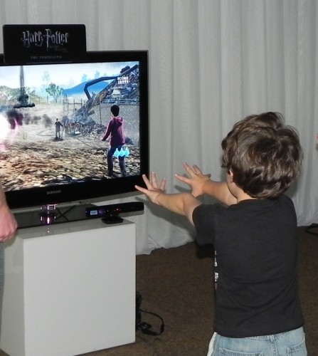 harry potter on kinect