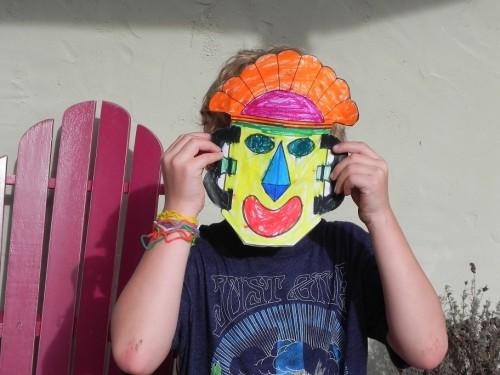 alec wearing mask