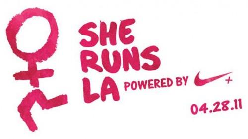 she runs la poster