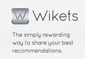 Wikets new app recommendations