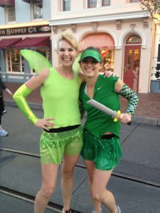team sparkle tinkerbell costume mom bloggers los angeles