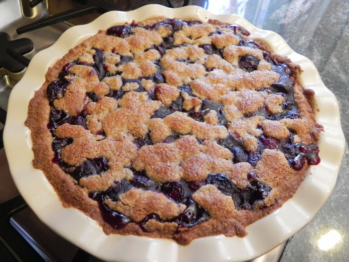 gluten free cherry pie yvonne condes mom blogger los angeles
