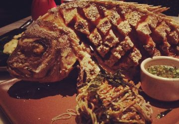 Whole Fried Snapper for 2 at Tar & Roses