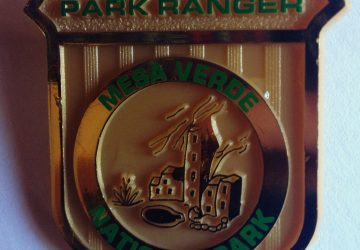 Junior Ranger Badge from Mesa Verde National Park (photo by Yvonne Condes)