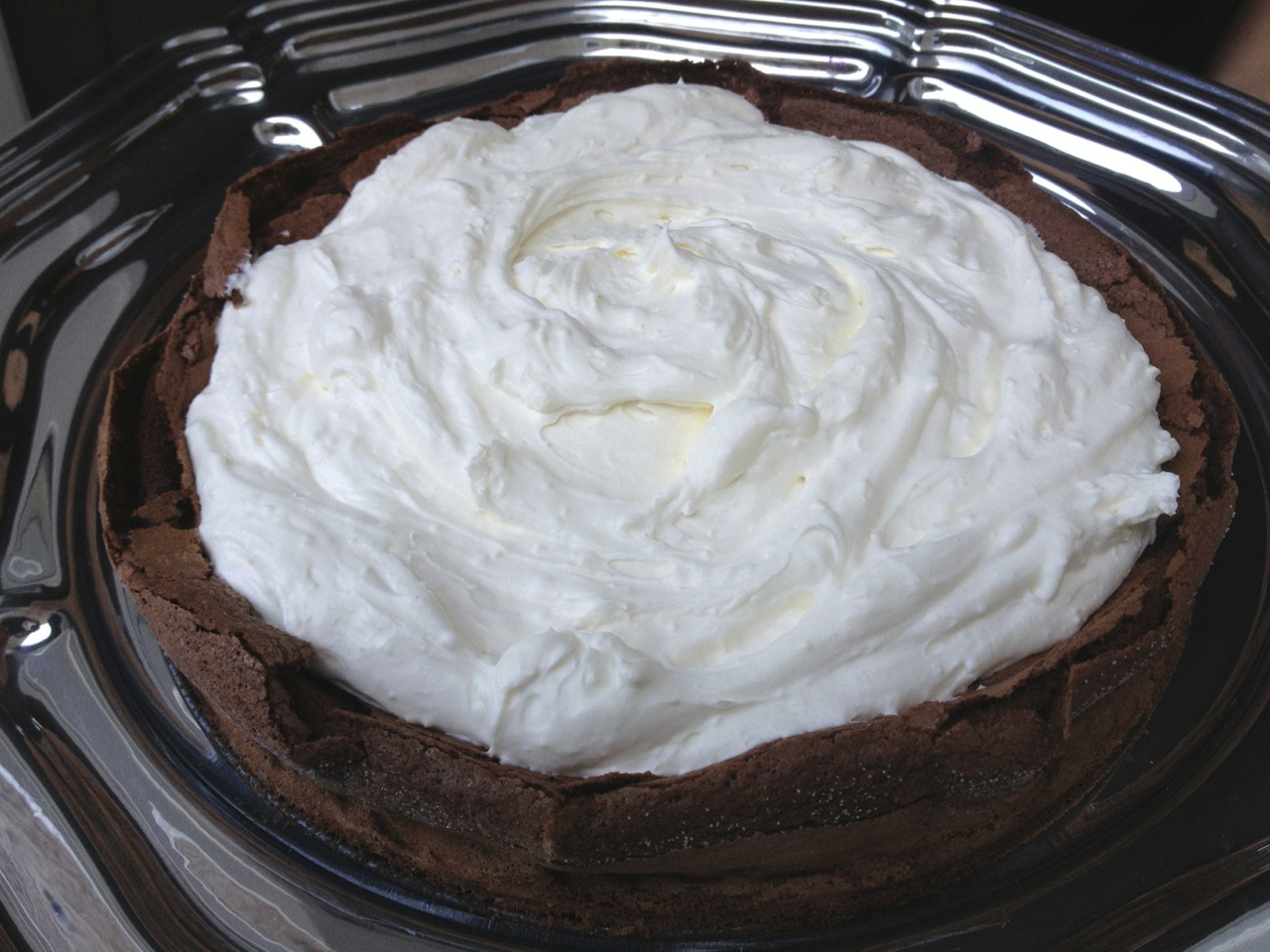 Flourless Chocolate Cake with Mascarpone (photo by Yvonne Condes)