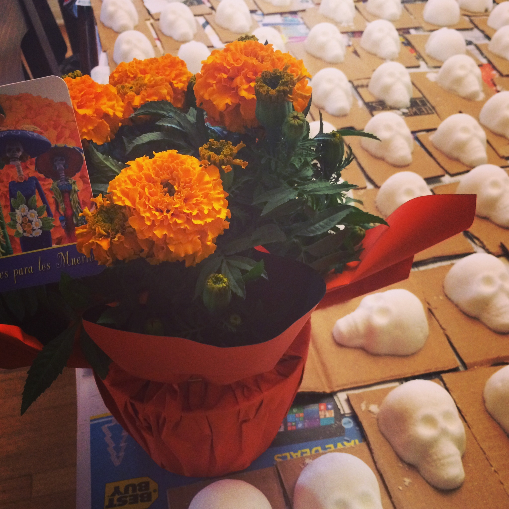 Marigolds for Muertos