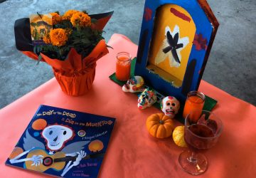Dia de los Muertos project for the classroom (photo by Yvonne Condes)