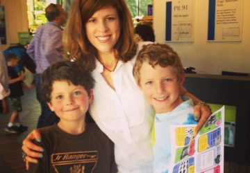 Yvonne and boys for Family Travel with Colleen Kelly