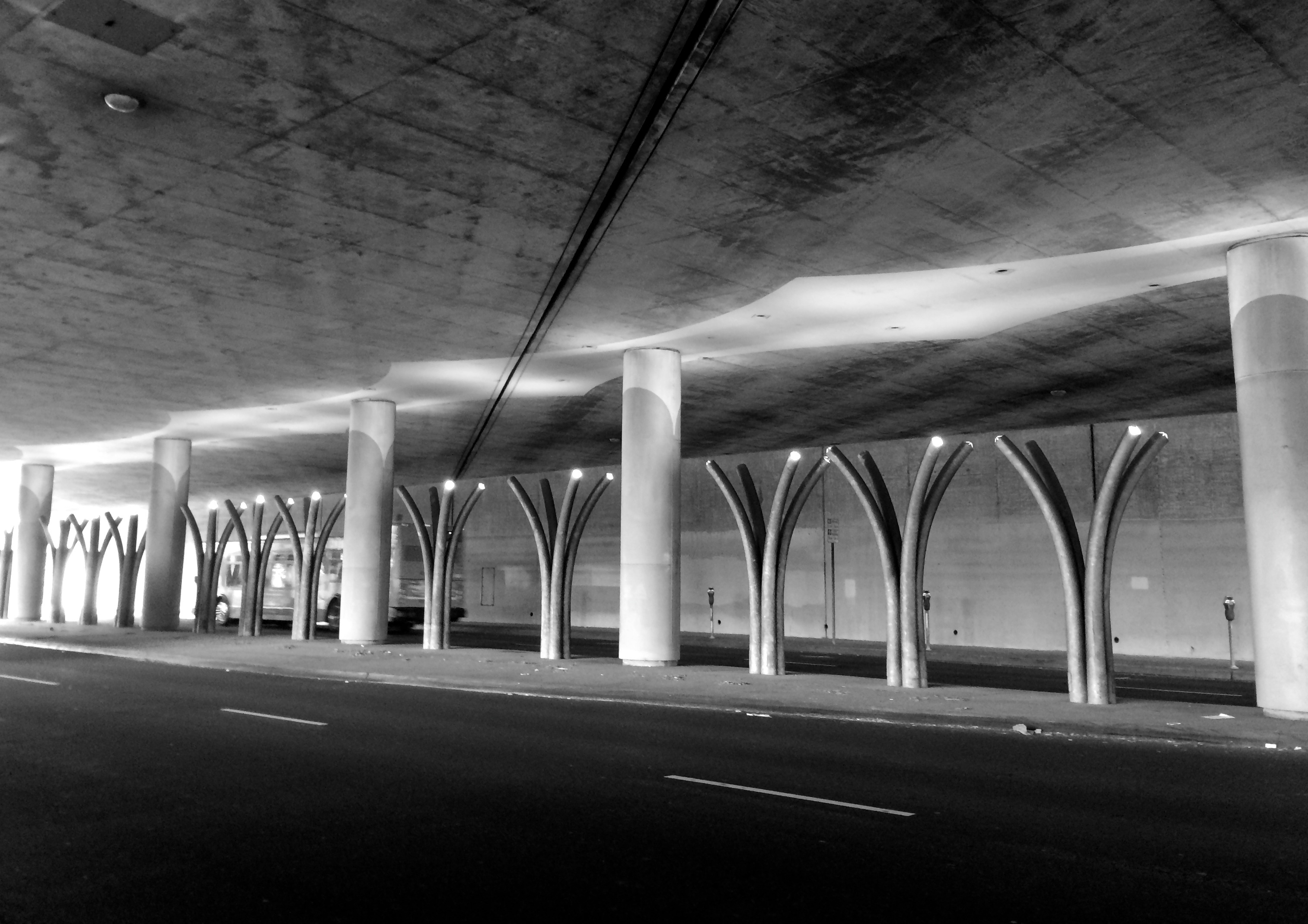 Underpass (photo by Yvonne Condes)