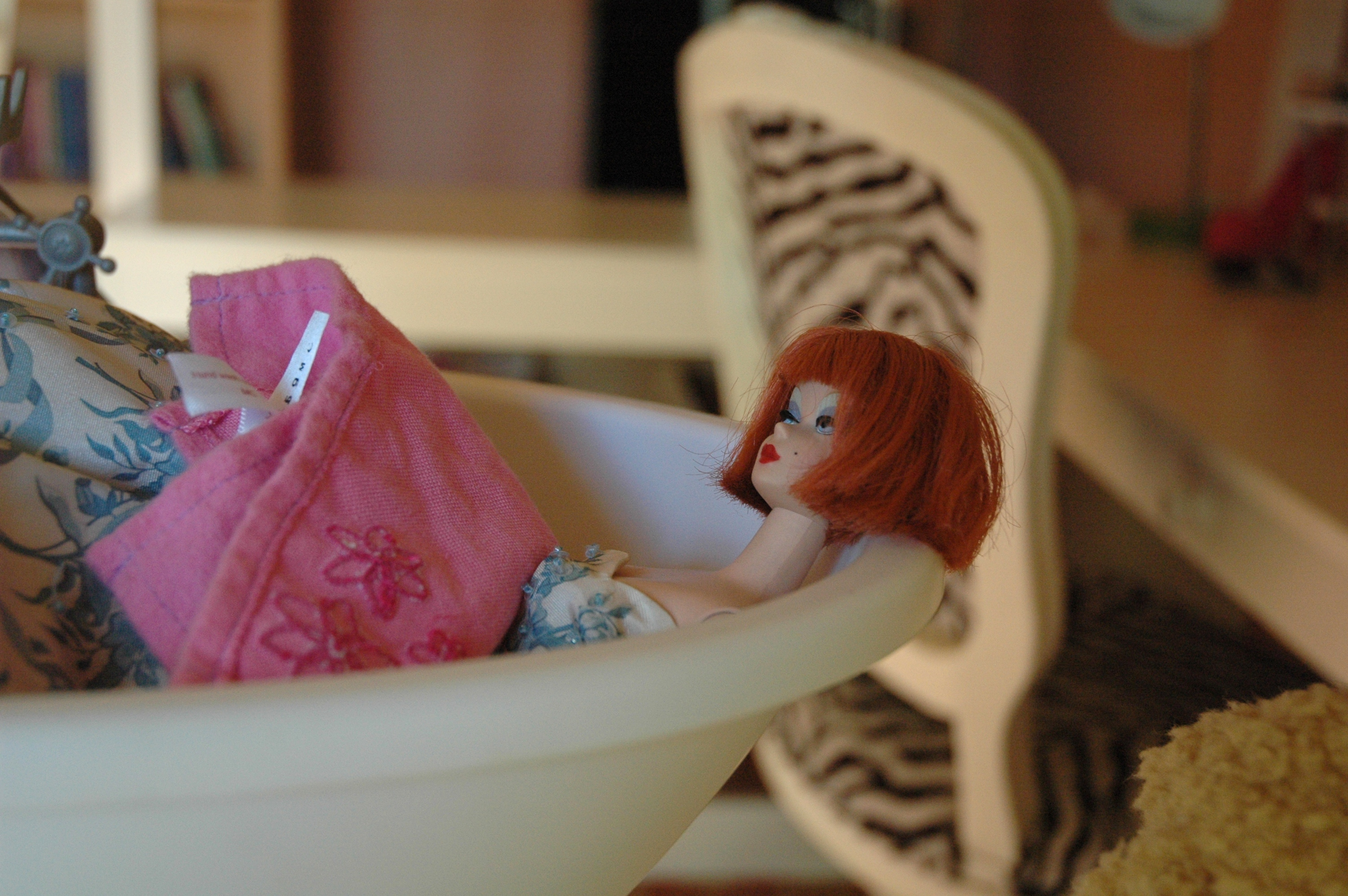 Barbie in Bathtub (photo by Yvonne Condes)