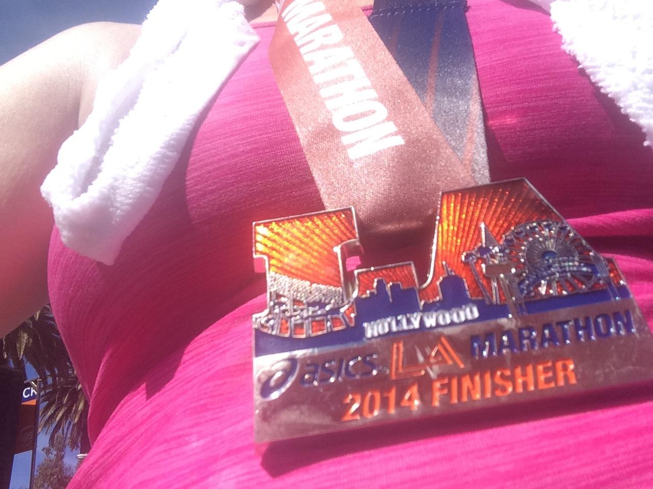 LA-Marathon-Medal-Selfie