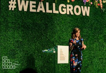 Yvonne Condes at the We All Grow Summit (photo courtesy of Robson Muzel and ?#?WeAllGrow? Summit)