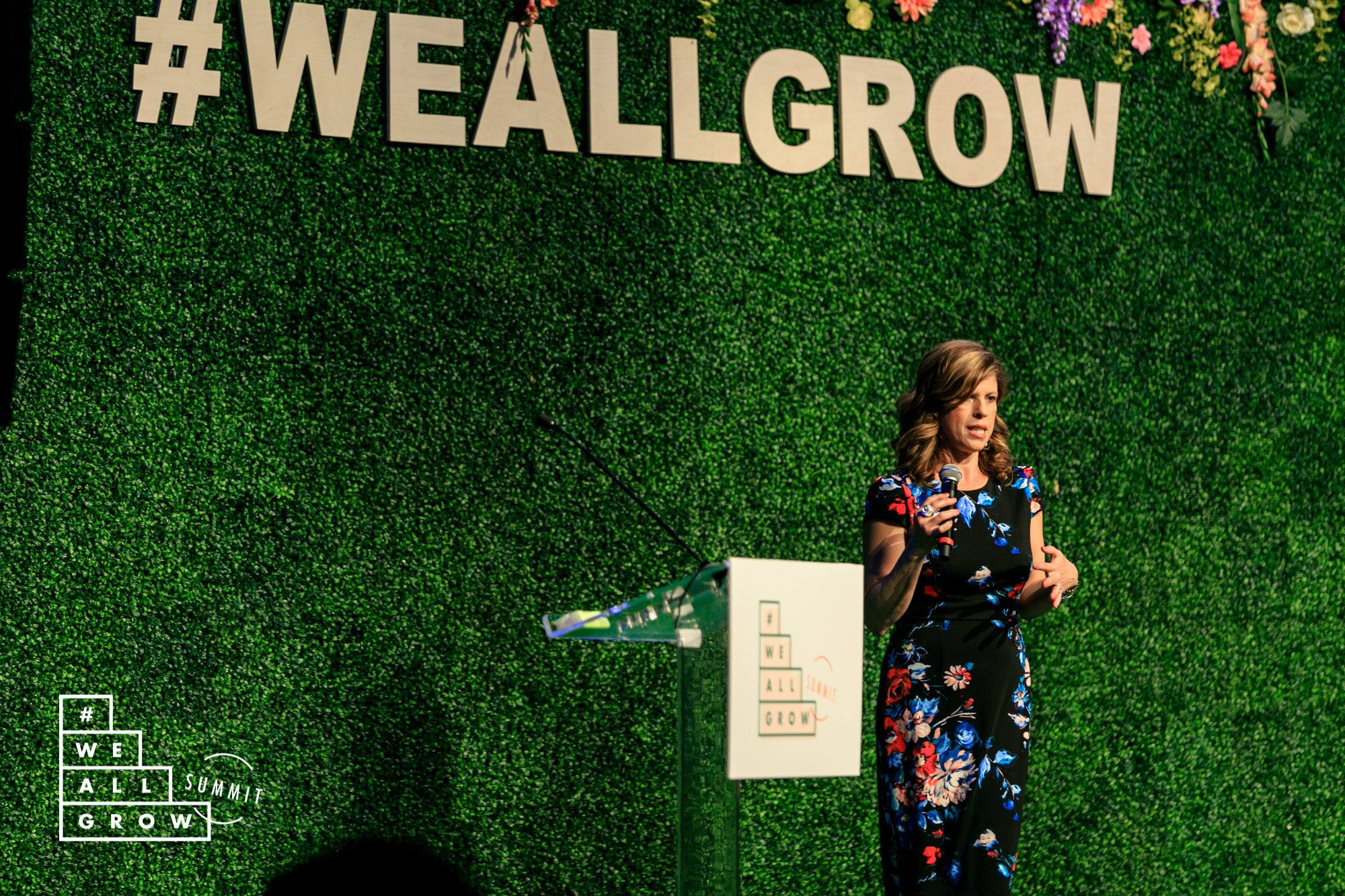 Yvonne Condes at the We All Grow Summit (photo courtesy of Robson Muzel and #WeAllGrow Summit)