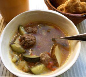 albondigas mexican soup